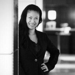 Michelle Mendoza black and white